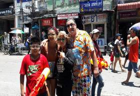 Pattaya Songkran 2019 happy days