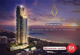Panora Pattaya new condominium project Pratamnak