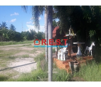 Huay Yai  land for Rent road frontage,