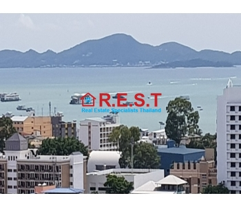 Central Pattaya with ocean views