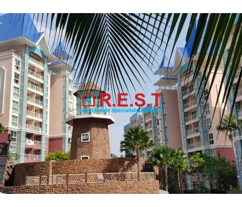 Pattaya Grand Caribbean 1 bed condo for sale