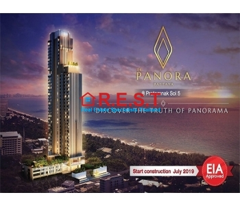 Panora Pattaya new 1 bed  condominium sales,EIA approved
