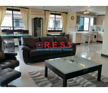 Pattaya Wongamat 3 bed condo rent,