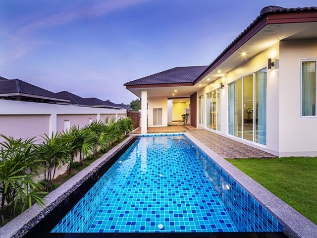 Green Ville House Huay Yai 3 bedroom new house for sale, Pattaya properties for sale,