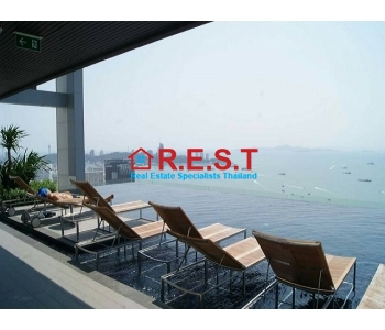 Centric Sea Central Pattaya 2 bed Condo Rental,