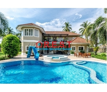Mabprachan Pattaya 4 bedroom house sale Maids quarters,
