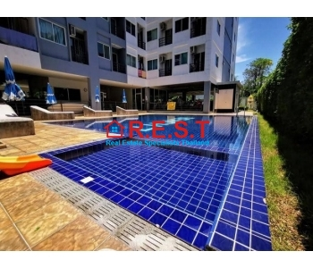 Reduced Jomtien beach Studio condo for sale,