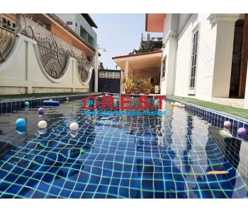 Jomtien pool villa rent 5 bed daily, weekly,